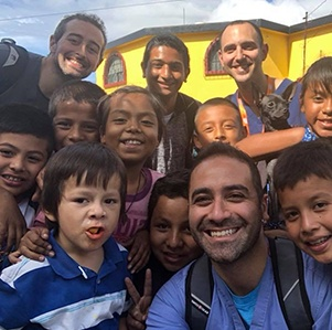 Dr. Koleini on mission trip