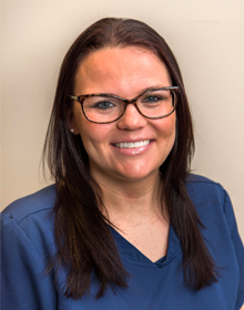 Dental hygienist Ginelle
